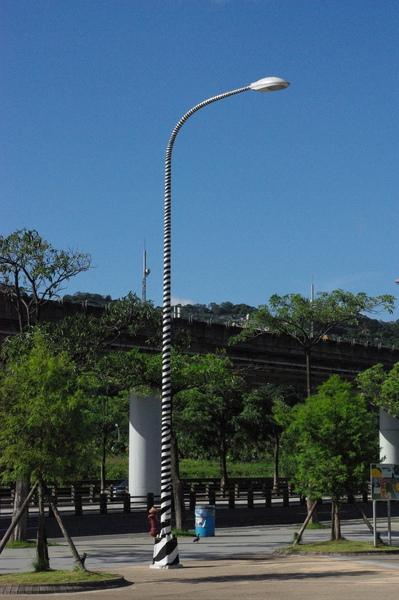 斑馬紋路燈