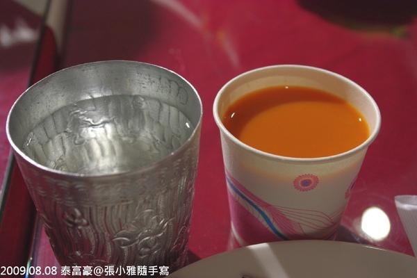 吃泰式料理一定要喝的奶茶