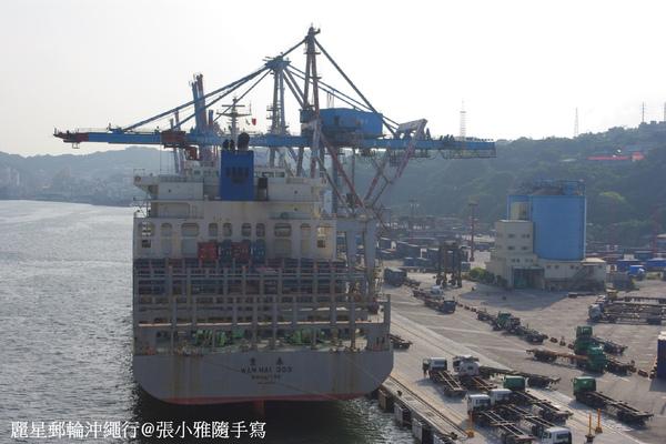 基隆港的大船