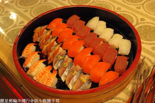 握壽司也是吃到飽的