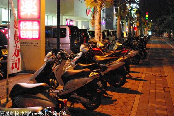 這裡也有很多人騎摩托車