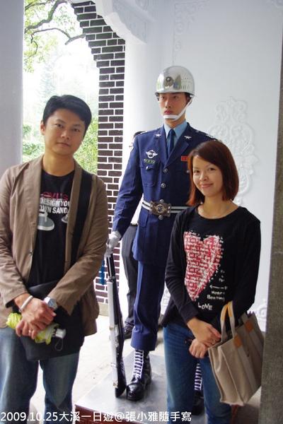 後面這位憲兵,長的很像一位大學同學