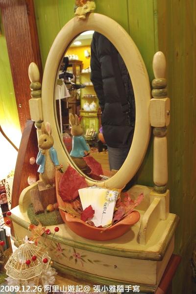 這家店收藏很多彼得兔的裝飾品