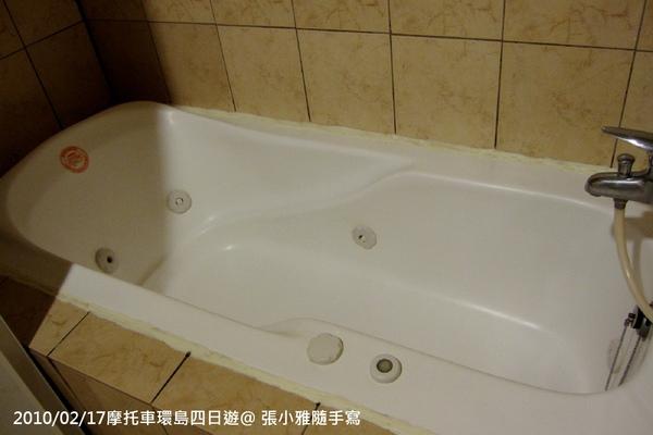 最令我感動的按摩浴缸