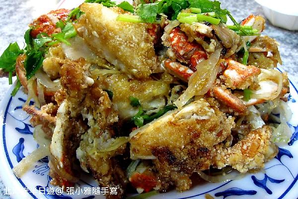 海風名菜-炒蟹