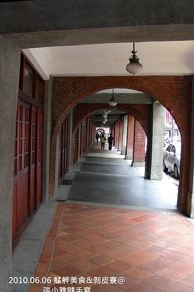 騎樓是當年避雨遮陽的代表建築