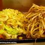 炒高麗菜&豆芽菜