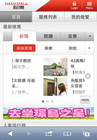 FetNet Mobile Site