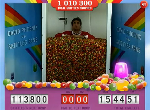 Skittles Facebook 活動
