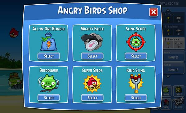 Angry Birds F-Store