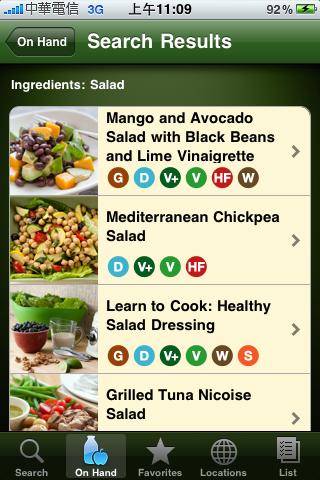 Whole foods Recipes APP