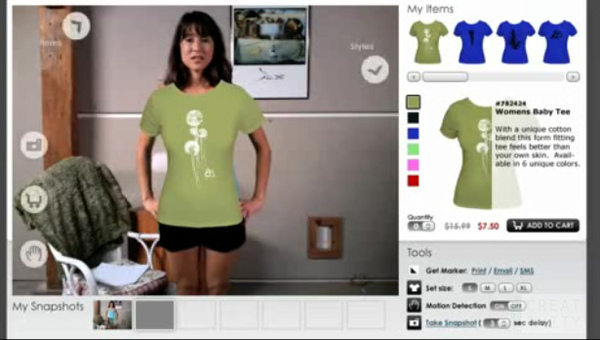 Zugara: Webcam Social Shopper