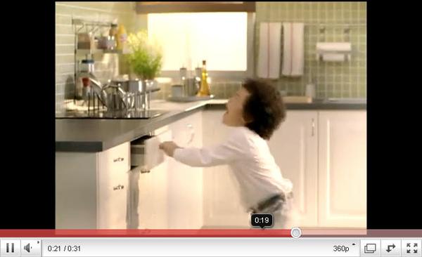 IKEA 2011廚房電視廣告-結婚篇