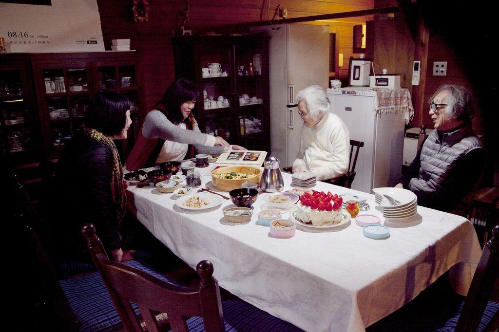 津端修一2015年3月家中宴客-太雅中圖