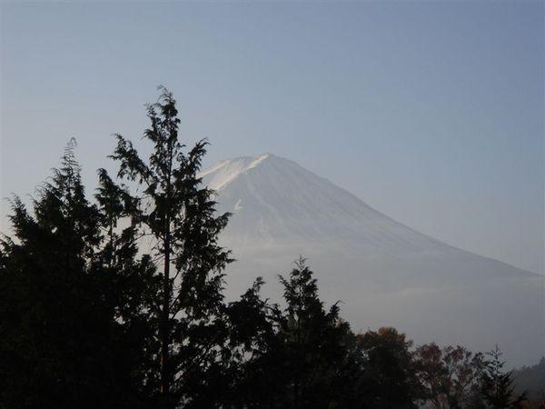 富士山露臉了~~