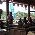 這家鬼怒川旁的餐廳有好吃的烤香魚