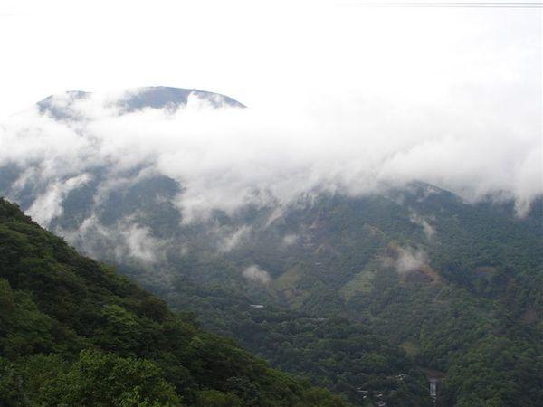 開車走いろは時, 看到的雲霧飄渺