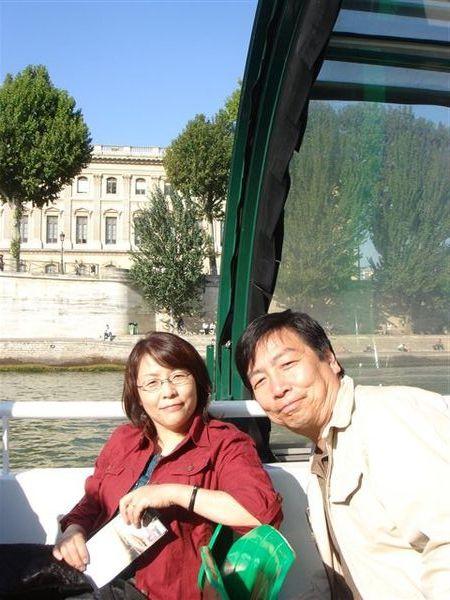 塞納河遊船上