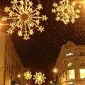 坎城的耶誕新年燈飾