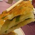 天廚葱油餅, 吸引人的夾層