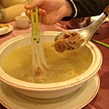 天廚烤鴨三吃之酸菜鴨肉冬粉湯