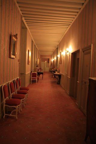 通往客室的長廊