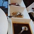 Westin Le terrace-主菜羊排的沾醬.  共四種口味.