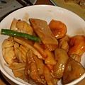 SOGO地下街桂林的花枝炒筍子