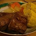 老哥大廚煮的鮪魚套餐