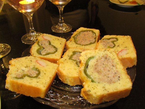 法式鹹蛋糕