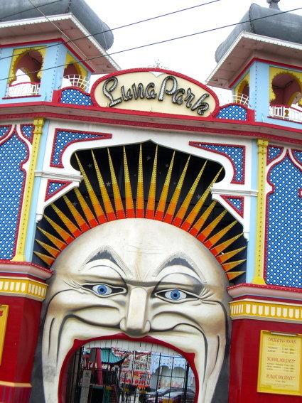 luna park是一個遊樂園