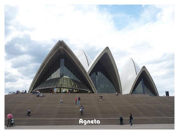 離開雪梨前好好看了歌劇院