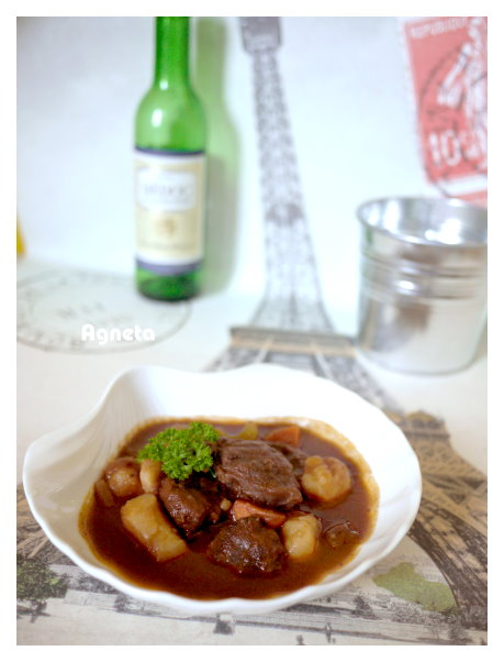 紅酒燉牛肉(解渴版) boeuf bourguignon (easy version)