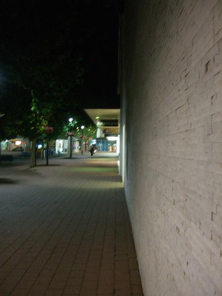 聖誕夜的canberra街道