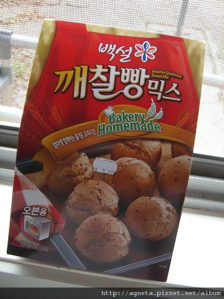 韓國麻糬麵包 正面