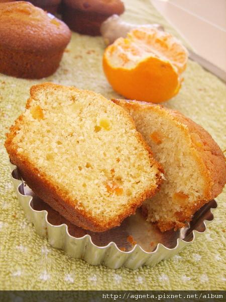 薑味暖暖~薑橙磅蛋糕