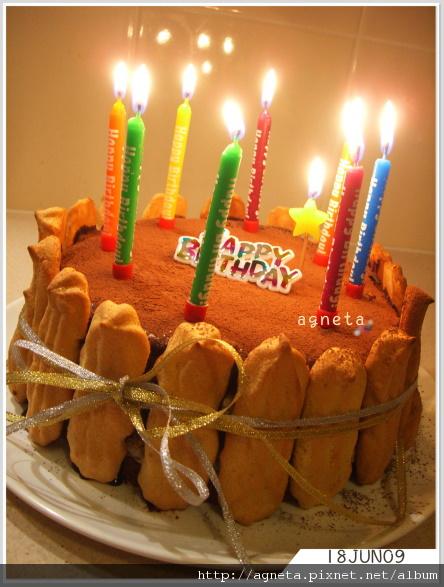 Karen的生日蛋糕~