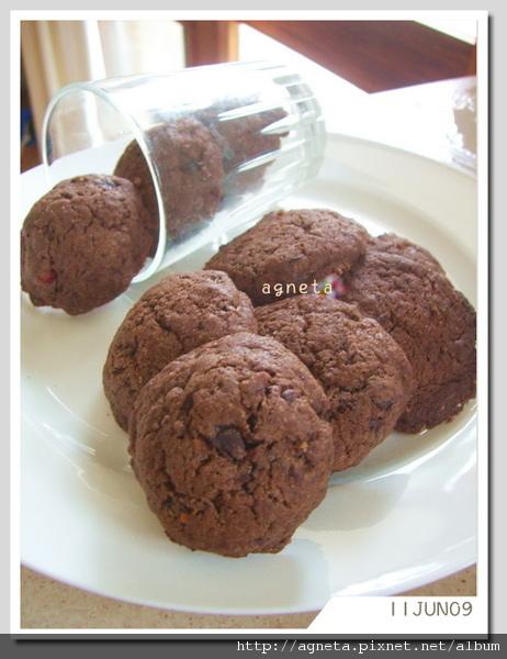 double巧克力餅乾