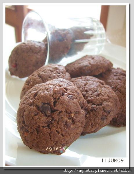 簡單好吃的巧克力餅乾