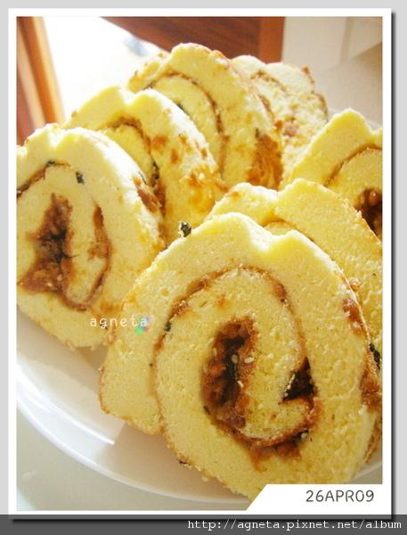 肉鬆蛋糕捲 黃金戚風法