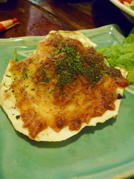 扇貝焗烤起司