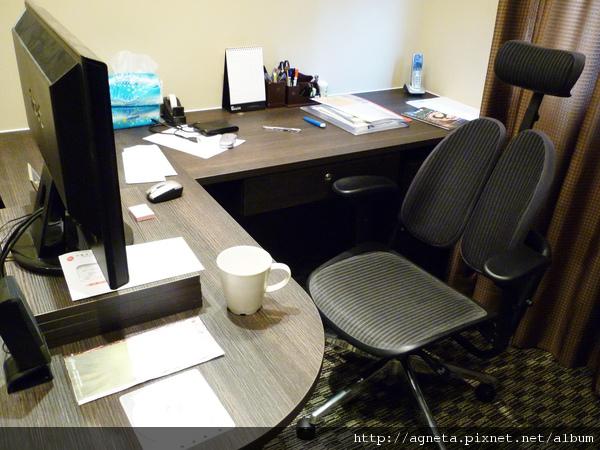 老王的書桌