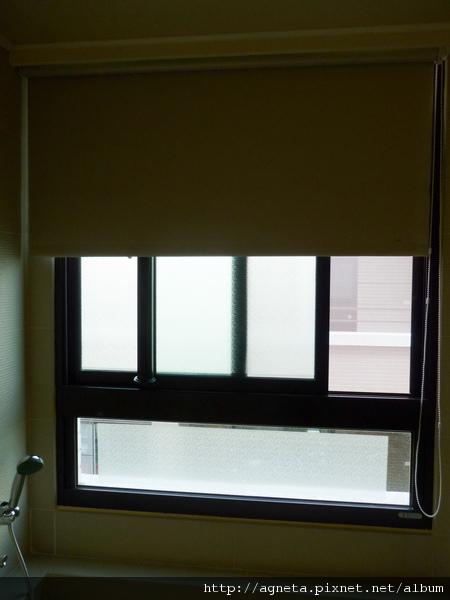主衛浴 遮光性超強的防水捲簾