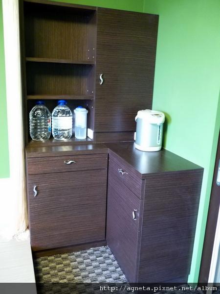 4F 客房門口收納櫃