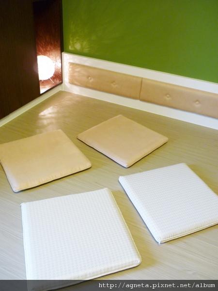 4F 客房 坐墊&床頭繃布