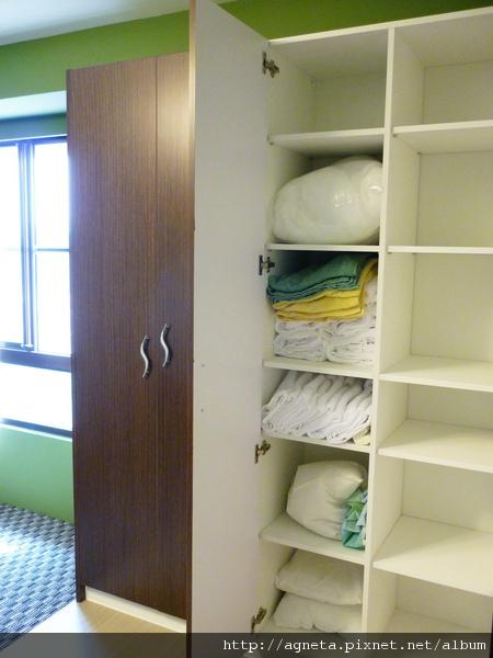 4F 客房收納系統櫃
