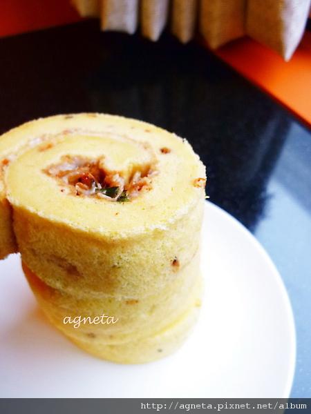 櫻花蝦蛋糕捲