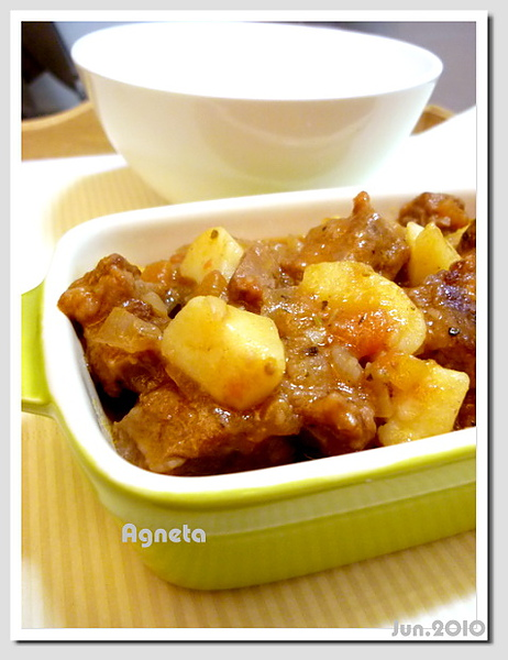 義式蕃茄燉牛肉 beef goulash