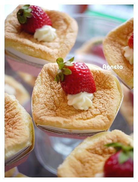 超軟草莓杯子蛋糕