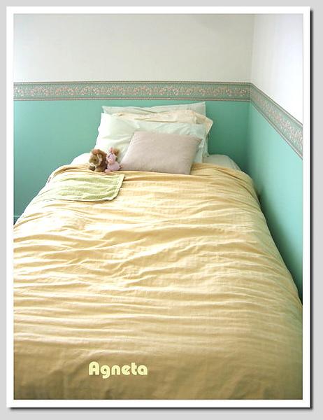 可愛的床~^^